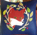 Fantastic Fox Applique Cushion Cover