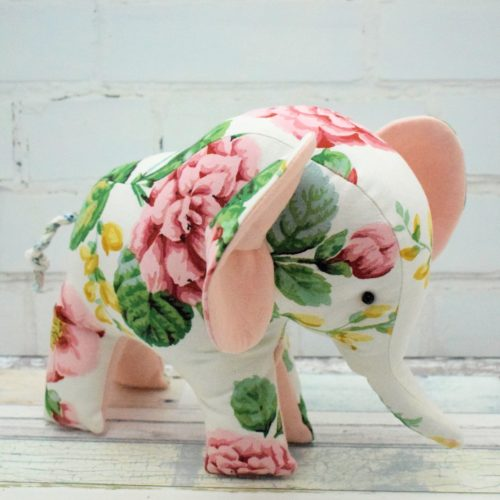 Free Flora the Elephant pattern for you – Bustle & Sew