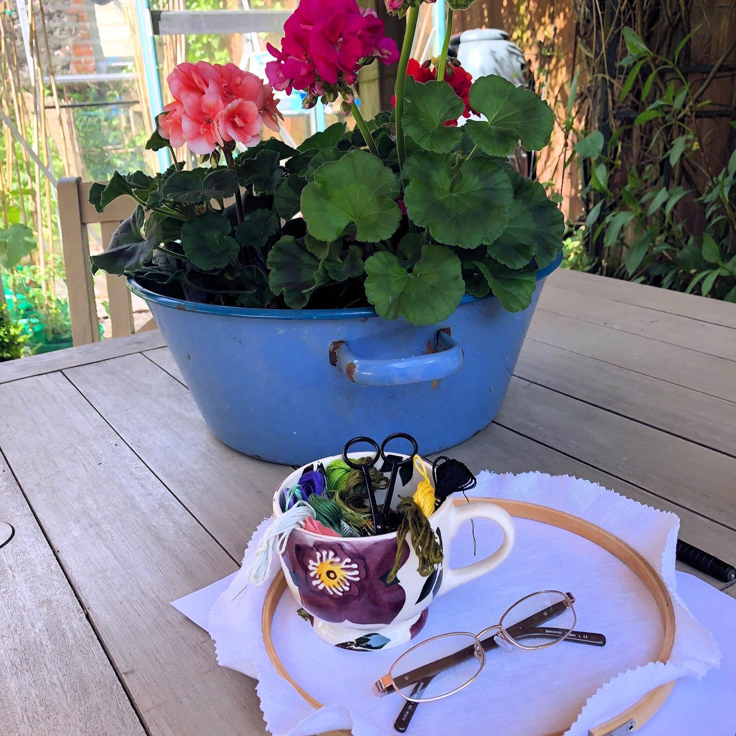 Garden Sewing
